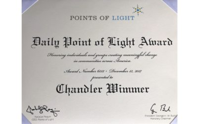 PLEASE READ—Points of Light Award