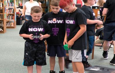 RobotsNOW Inaugural Robotics Camp